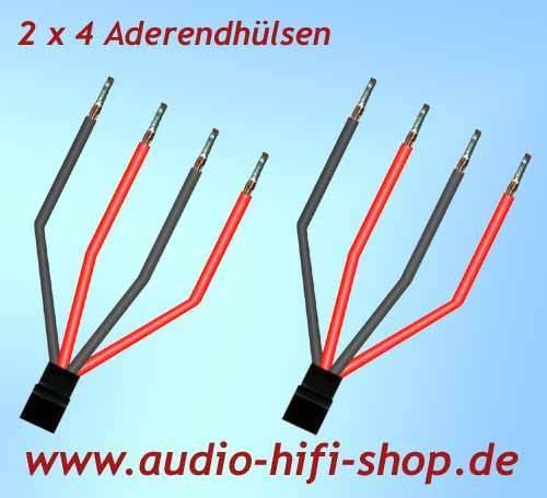 Fein 4 Draht Lautsprecherkabelanschluss Zeitgenössisch - Der ...