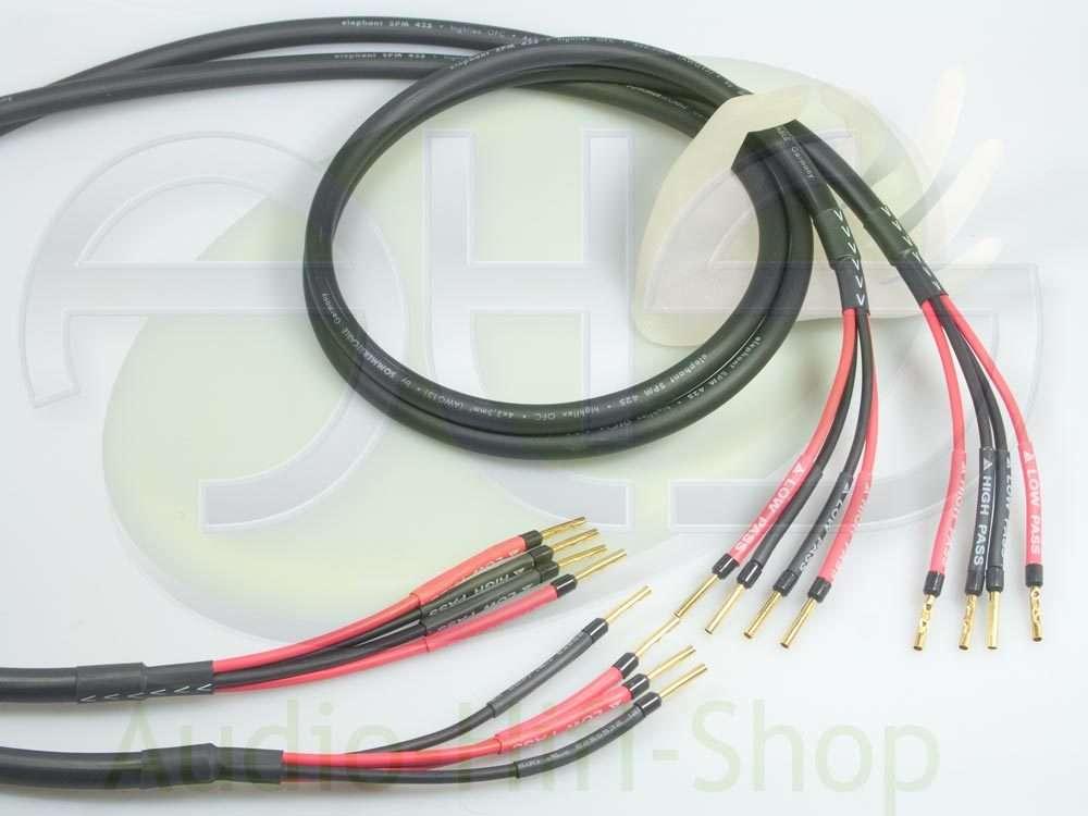 Elephant 4 x 2,5 qmm von Sommer Cable bi-amping - audio-hifi-shop