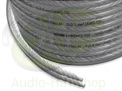 HICON Ambience Lautsprecherkabel Meterware - audio-hifi-shop