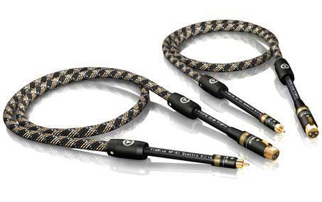 Viablue NF-S1 Cinch-male auf XLR-female Kabel Doppelmono