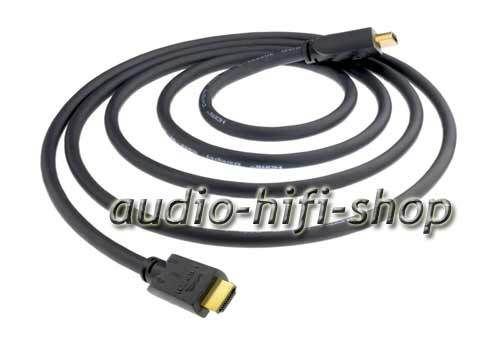 in-akustik Darkgray High Speed HDMI Kabel + Ethernet + ARC
