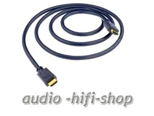 in-akustik Darkblue High Speed HDMI Kabel + Ethernet 1,50 m