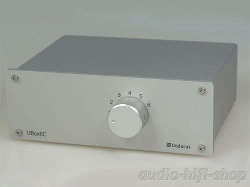 DODOCUS Audio NF Umschaltbox UBox6C