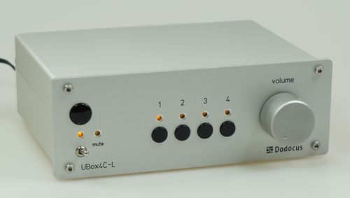 DODOCUS Audio NF Umschaltbox UBox4C-L